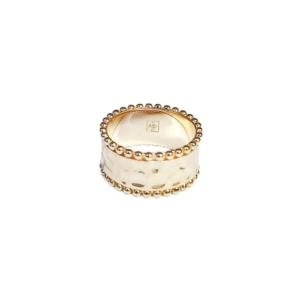 Bague plaqué or bijoux fantaisie de qualité dolita