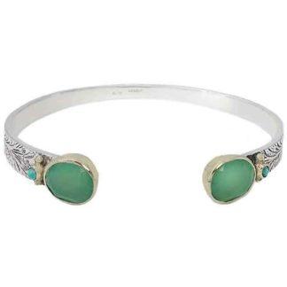 bracelet jonc argent martelé canyon dolita