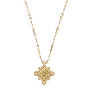 collier ethnique pendentif doré camille enrico