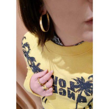 look dolita boucles d'oreilles créoles fantaisie créatrice la2l dolita