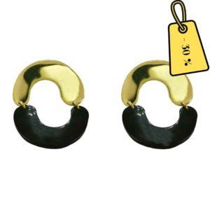 boucles-doreilles-femme-noires-dorees