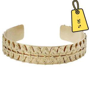bracelet-manchette-femme-dore