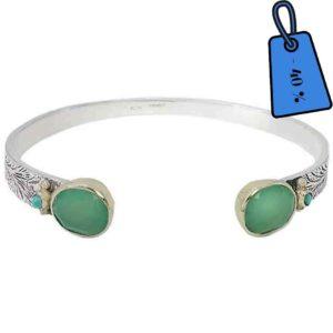 bracelet-argent-chrysoprase