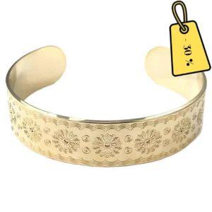 bracelet doré delphes doré tendance