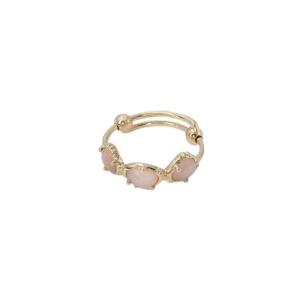 bague sofia quartz rose Au fil de lo chez dolita