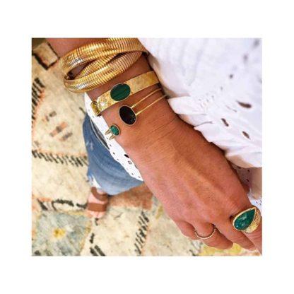 look bracelet eva krystal chez dolita