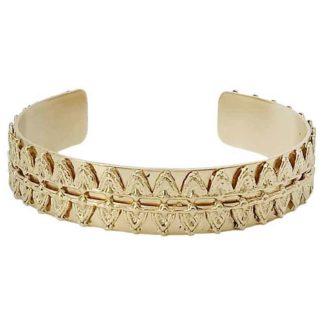 bracelet manchette laiton doré la2l dolita