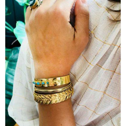 Look bracelets fantaisie de créateurs jonc la2l dolita