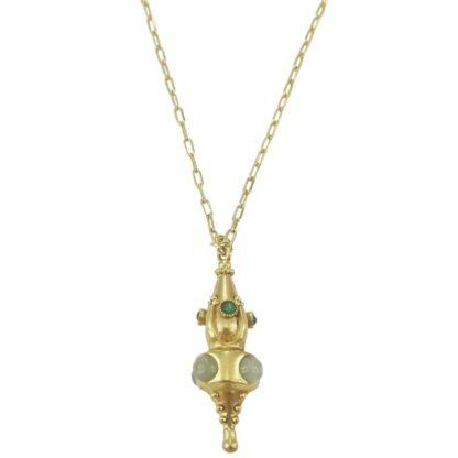 collier de la créatrice parisienne la2l, bijoux made in france, idée de cadeau bijoux pour femme