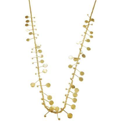 idée de cadeau collier femme le collier doré de la créatrice de bijoux français Diaperis