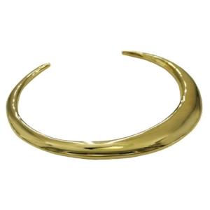bracelet jonc doré look minimaliste de la marque de bijoux Soko chez Dolita