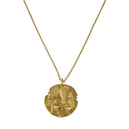 collier médaille serpent au fil de lo bijoux made in france