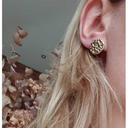 boucles d'oreilles Palais du créateur parisien Fabien Ajzenberg chez Dolita bijoux
