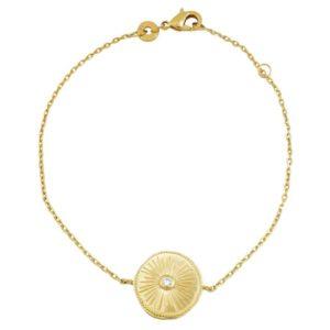 bracelet-femme-tendance-chaine-medaille