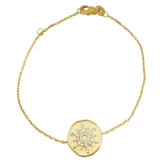 bracelet-medaille-etoile-femme
