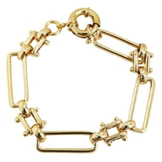 bracelet plaqué or tendance bijoux femme