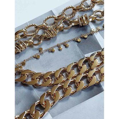 colliers femme plaqué or tendance bijoux