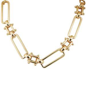 collier femme plaqué or de qualité