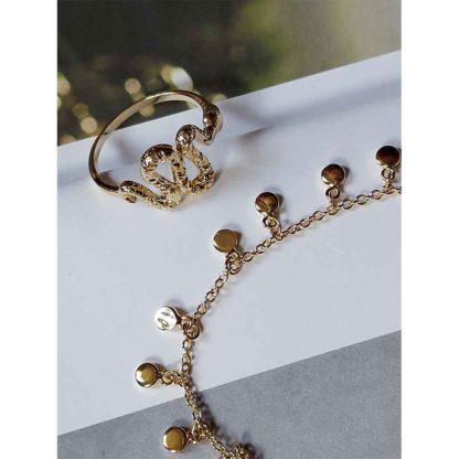 bague femme et collier tendance bijoux