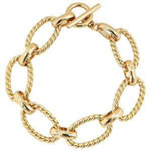 bracelet plaqué or femme