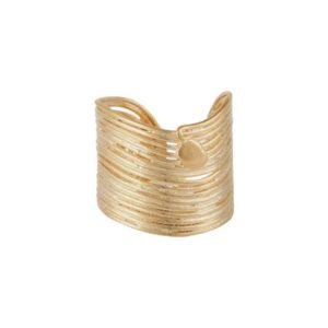 bague tendance femme dorée Gas bijoux