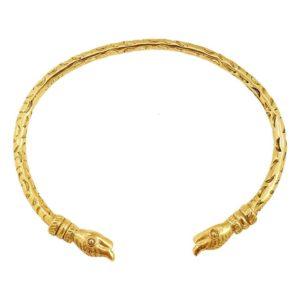 bracelet jonc doré laiton marque française LA2L bijoux femme tendance