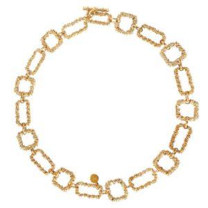 collier Belem Gas bijoux or