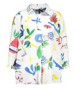blouse chemise femme tendance arty