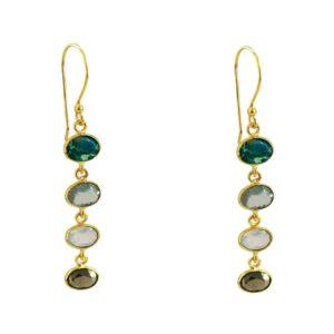Boucles d'oreilles Marga de lamarque bijoux française Paloma Stella