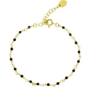 bracelet femme chaine pierres naturelles Une à Une bijoux